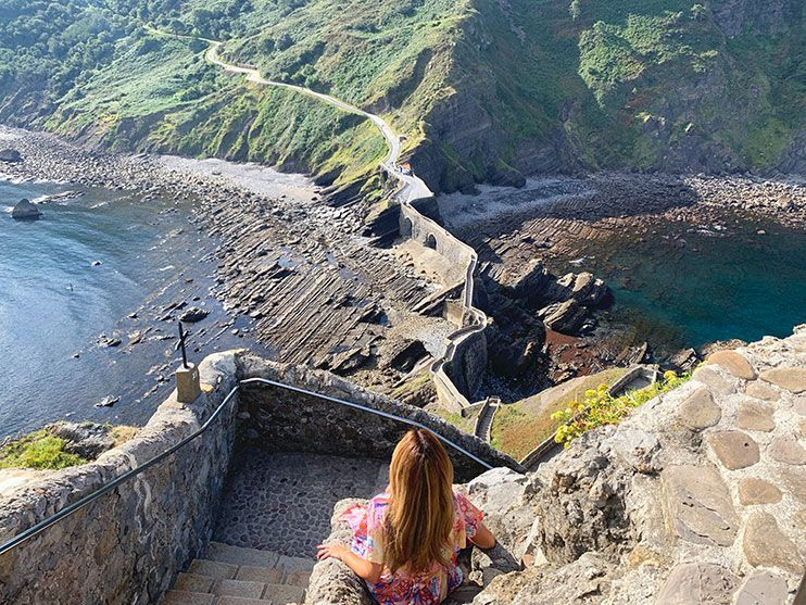 Visitar San Juan de Gaztelugatxe rocadragon got