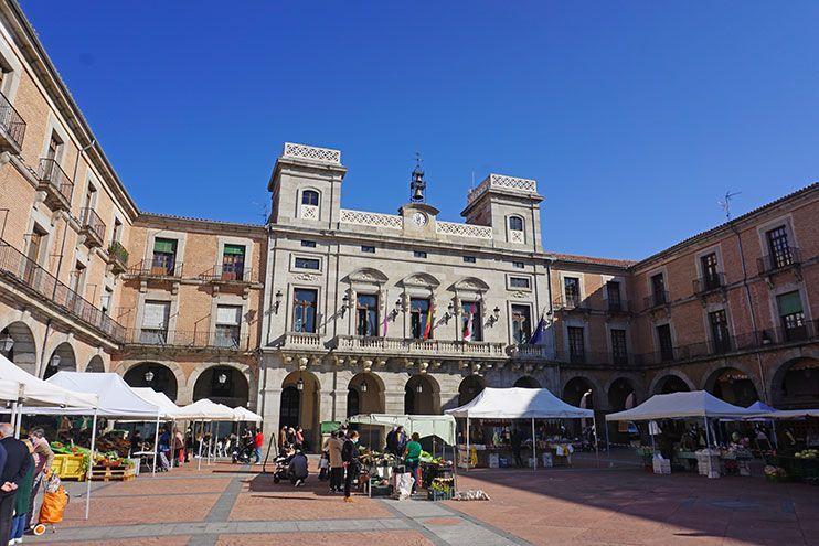 Plaza del Mercado Chico Ávila