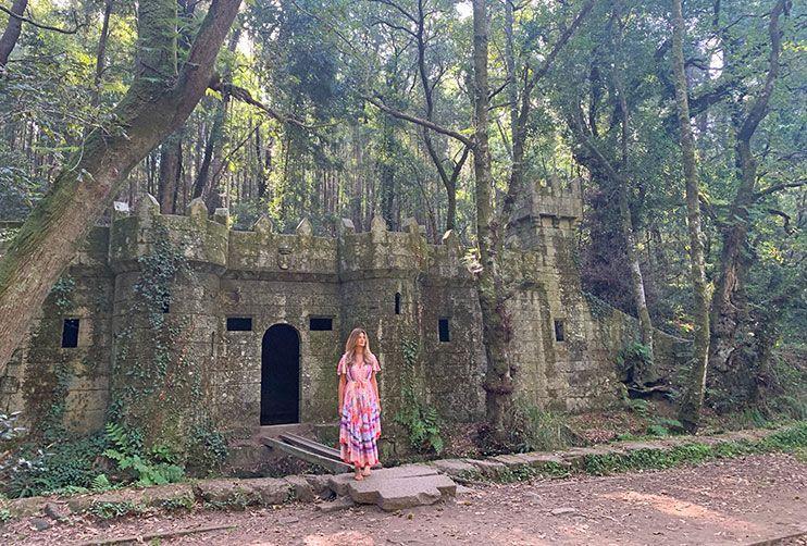 que ver en Galicia Bosque encantado de Aldán