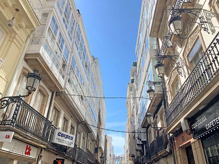 Casco antiguo A Coruña