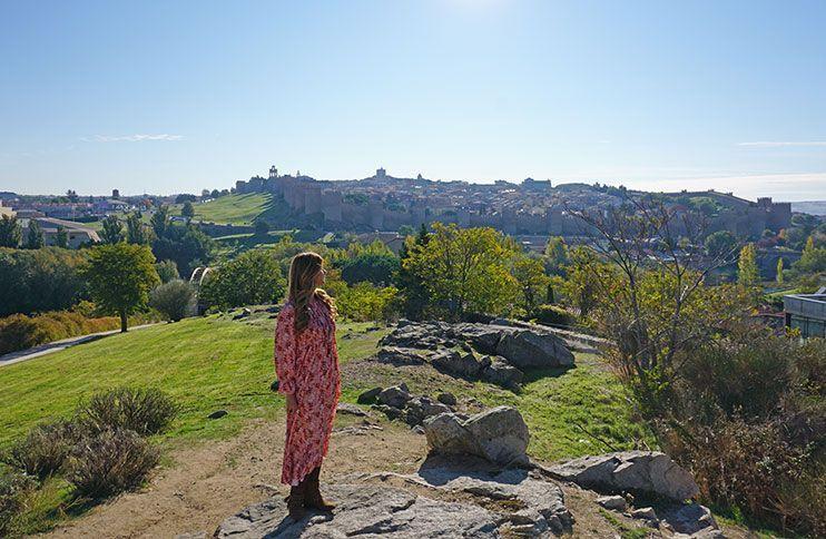 Mirador de los Cuatro Postes Ávila