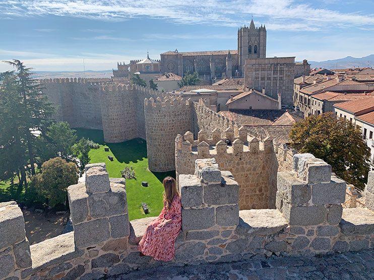 Muralla medieval de avila