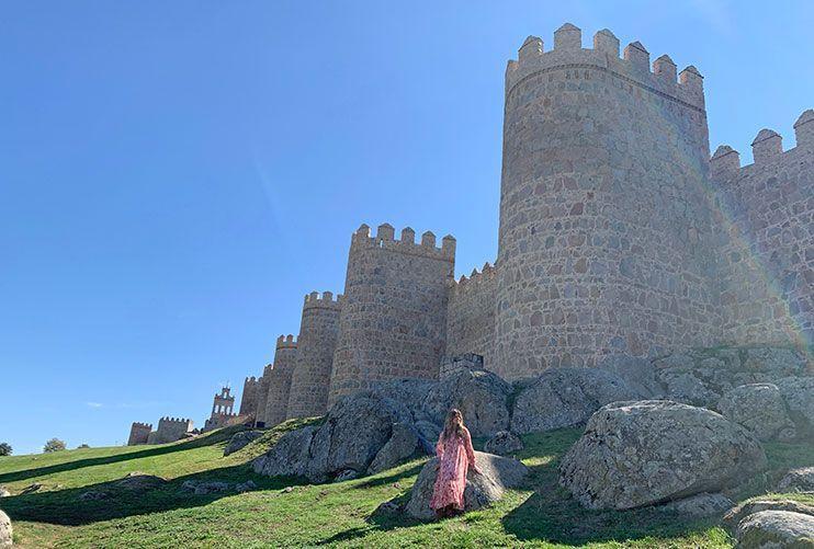 Muralla que ver en Ávila