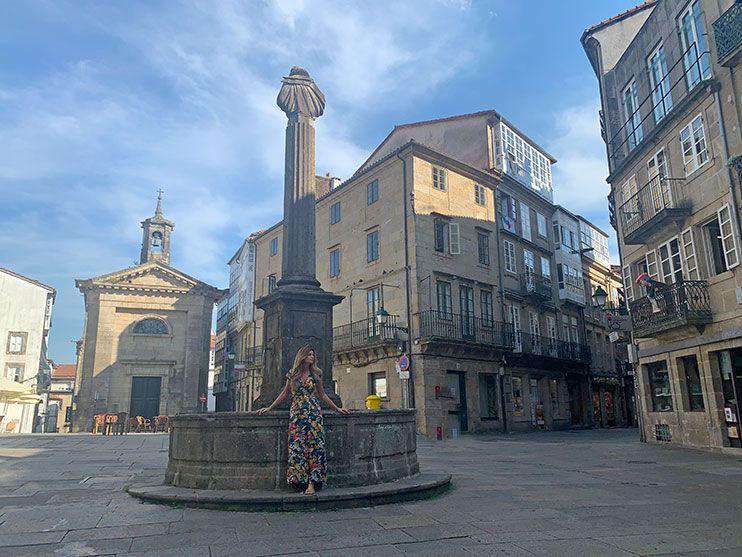 Plaza Cervantes Santiago de Compostela