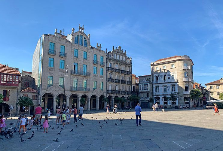 Plaza de la Herrería Pontevedra