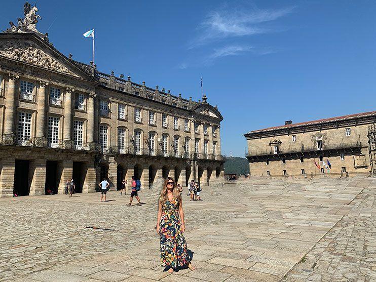 Plaza del Obradoiro Santiago de Compostela