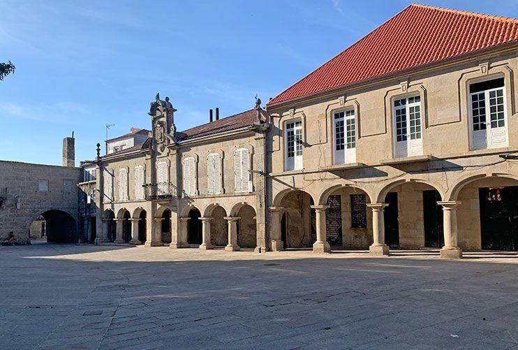 Plaza da Pedreira Pontevedra