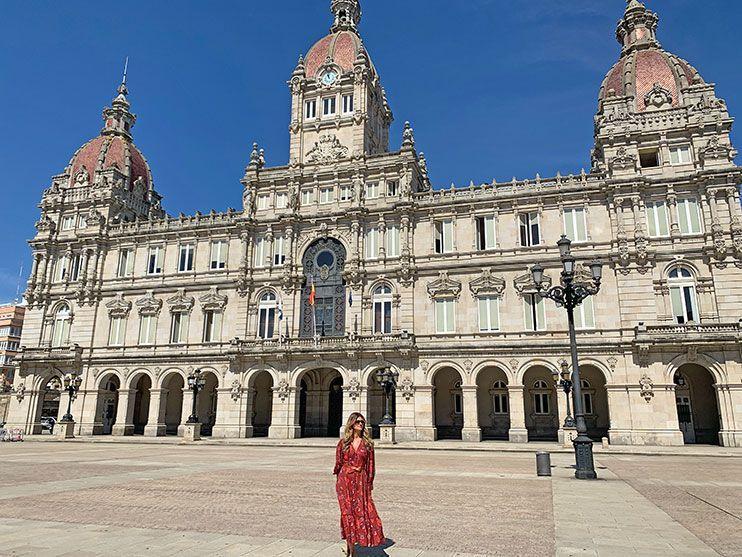 Plaza de María Pita Coruña