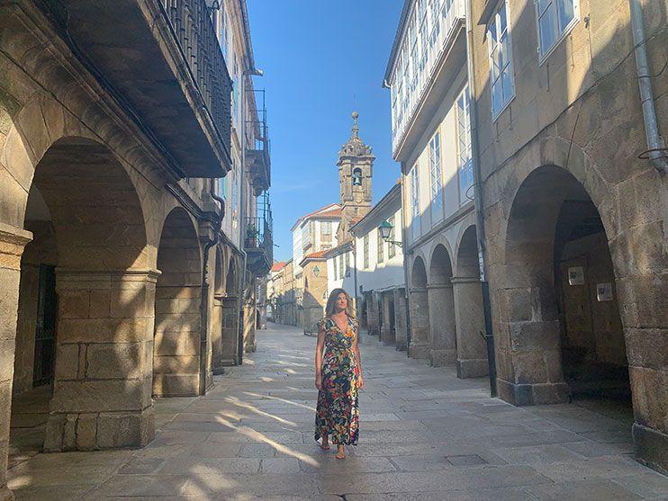 Rua Nova Santiago de Compostela