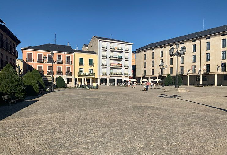Plaza del Ayuntamiento Ponferrada