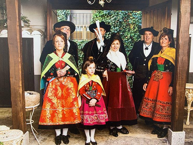 trajes típicos de Candelario