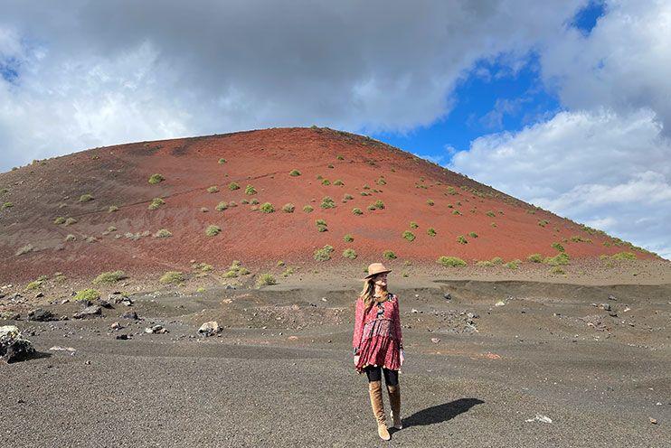 Montaña Colorada Lanzarote