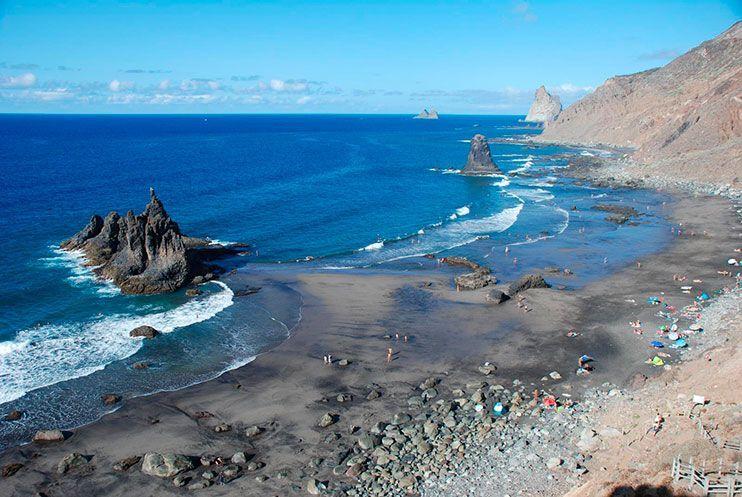 Playa de tenerife Benijo