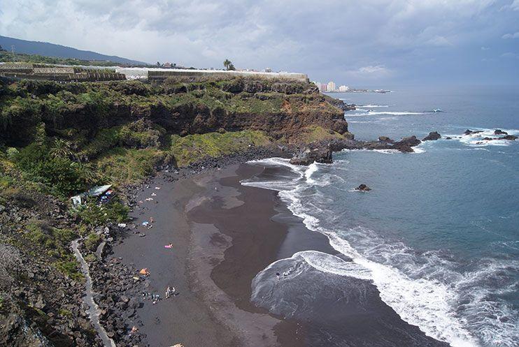 Playas de tenerife El Bollullo