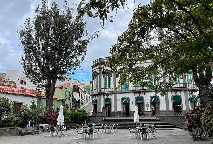 Plaza de San Juan Arucas