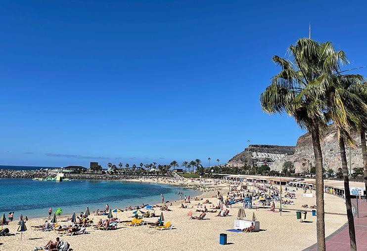 mejores Playas de gran canaria Playa de Amadores