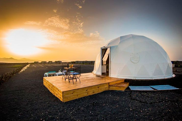 Eco dome experience