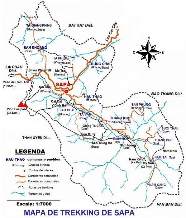 Rutas de Trekking en Sa Pa