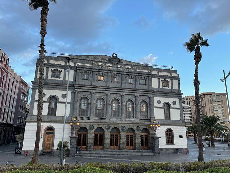Que ver en Las Palmas de Gran Canaria Teatro Pérez Galdós