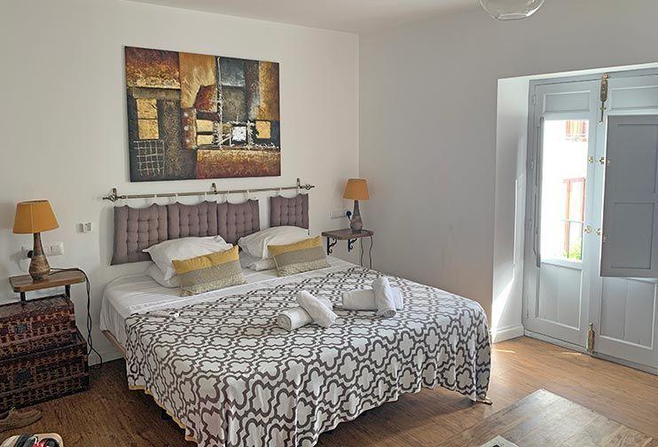 Nuestro hotel en Frigiliana