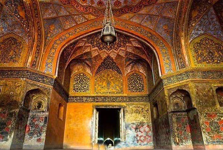 Tumba de Akbar por dentro