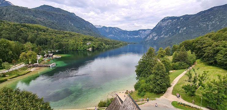 Lago Bohinj que ver en eslovenia