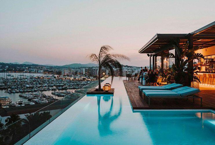 Dónde alojarse en Ibiza Aguas de Ibiza