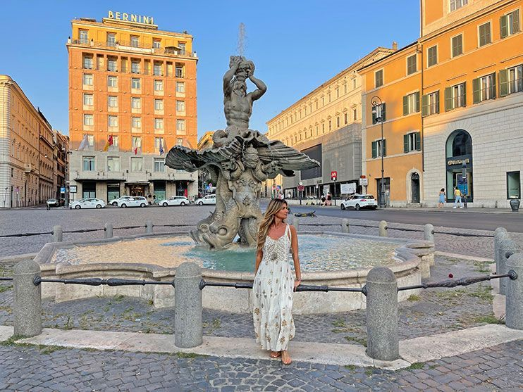 Piazza Barberini Roma