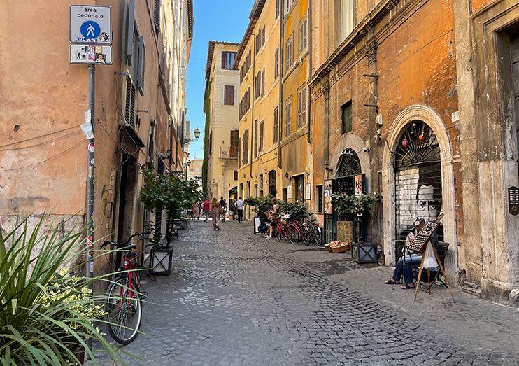 Barrio Parione Roma